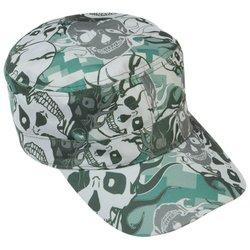 GFCAP3SC  Casual Outfitters™ Grey Skull Camo Design Cap