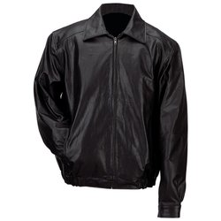 GFBSL Gianni Collani™ Men�s Solid Genuine Leather Bomber-Style Jacket