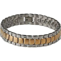 JELMGM2  Navarre™ Stainless Steel Bracelet with Magnets