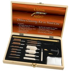 Image 0 of SPGUNCLN - Classic Safari™ Deluxe Cleaning Kit In Wood Case