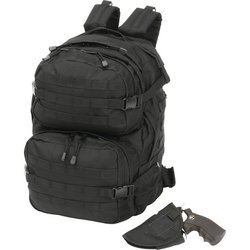 LUBPCHL     Extreme Pak™ Black Backpack with Concealed Handgun Holster