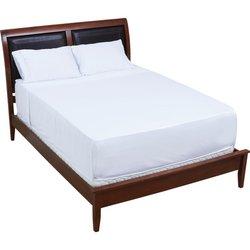 GFSHTBQW - Wyndham House™ White Organic Bamboo Queen Size Sheet Set