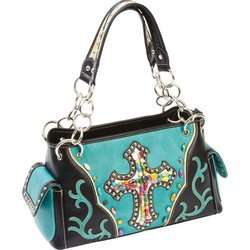 LUPFF08 - Fleur de Lune® Ladies� Fashion Cross Purse