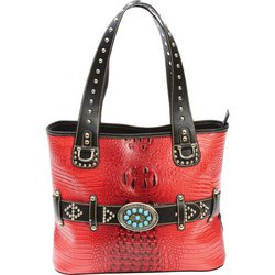 LUPFF10 - Casual Outfitters™ Ladies� Fashion Turquoise Buckle Purse
