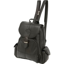LULBP2 - Embassy™ Solid Genuine Lambskin Leather Backpack