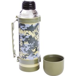 KTHERML1 - Maxam® 33.8oz (1L) Digital Camo Vaccuum Bottle