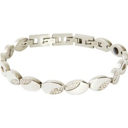 JELMGL2 - Navarre™ Stainless Steel Bracelet with Magnets