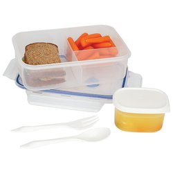 KTLKLNCH - LaCuisine™ 34oz Locking Divided Lunch Container