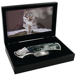 SKWLFBX - Maxam® Decorative Lockback Knife