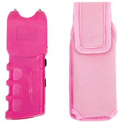 ELSTUNP - Maxam® 300,000V Stun Gun and Flashlight with Polyester Sheath