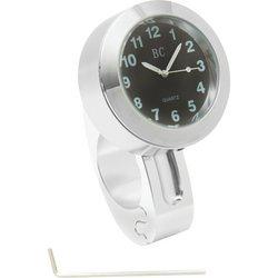 BKCLOCK - Diamond Plate™ Chrome Motorcycle Clock