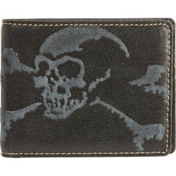 Image 0 of BKWALSC - Diamond Plate™ Solid Genuine Leather Biker Wallet