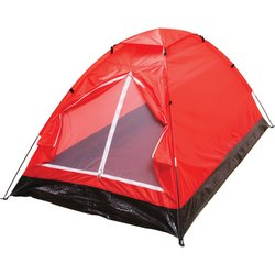 SPTENT2XLRD - Maxam™ Extra-Long Red 2-Person Tent