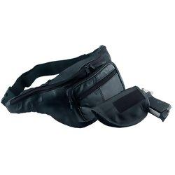 LULGH2-  Embassy, Leather Gun Holder Belt Bag