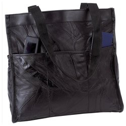 Image 0 of LULSHOP2- Embassy, Genuine Leather Shopping/Travel Bag