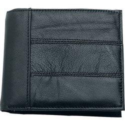 LULWAL5- Embassy, Men's Genuine Leather Bi-fold Wallet