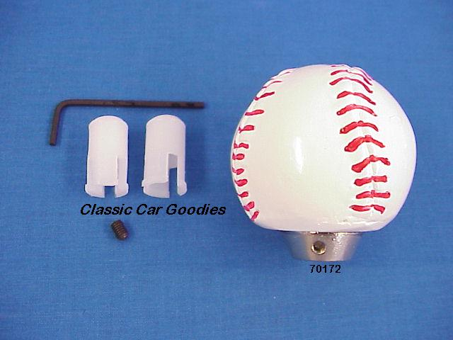 shift knob baseball