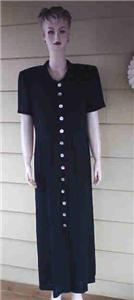 Black dress by Cynthia Howie size 12 new nwt