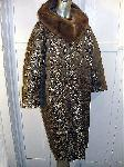 Vintage Brocade Opera Coat 14 W Plus Size :  plus size clothes fall mink collar classic treasures