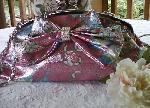 Pink Purse Crystals Bow Butterfly New with Tags