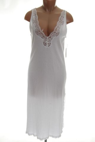 Lauren Ralph Lauren White Lace Nightgown S nwt
