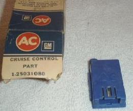 GM AC   25031080 CRUISE CONTROL PART..