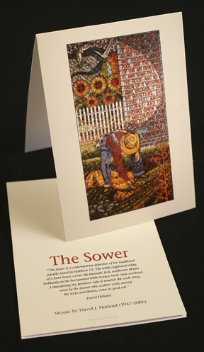Thumbnail of X. David J. Hetland - Sower Cards
