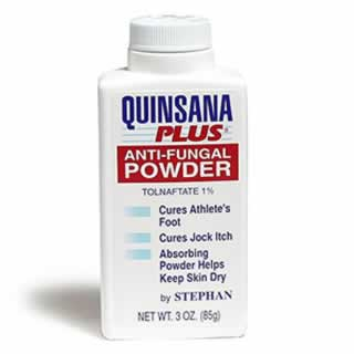 Quinsana Plus foot Powder 3 Oz