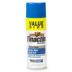 Tinactin Antifungal Jock Itch Value Size Powder Spray 4.6 Oz
