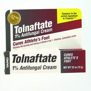 Image 0 of Tolnaftate 1% Cream 0.5 Oz