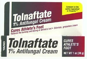 Image 0 of Tolnaftate 1% Mfg. By Taro Anti fungal Cream 1 oz