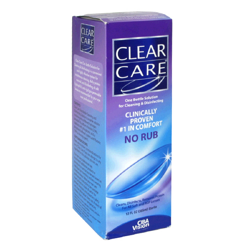 Aosept Clear Care Disinfecting 12 Oz