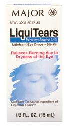 Liquitears Dry Eye Solution 15 Ml