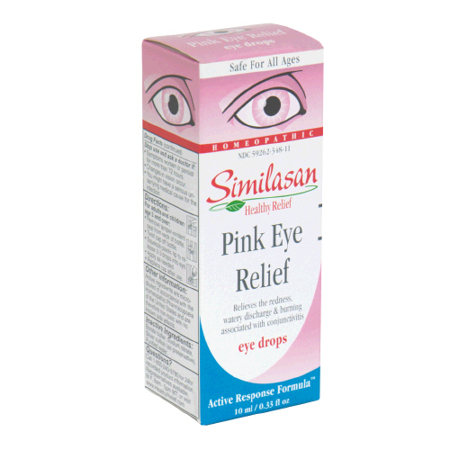 Image 0 of Similasan Pink Eye Relief Drops 0.33 Oz.