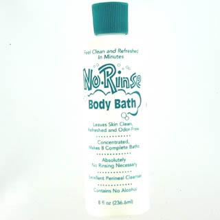 Image 0 of No Rinse Body Bath Liquid 8 Oz