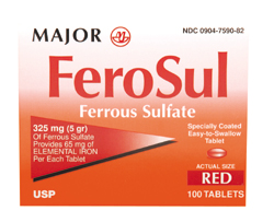 Ferrous B P 5 Gr Fc 100 Tablet