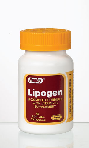 Lipogen B-Complex Formula With Vitamin C Supplement Softgel Capsules 60