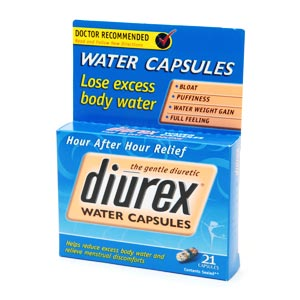 Image 0 of Diurex Long Acting Water Capsules 21