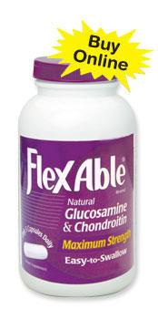 Flexable Natural Glucosamine & Chondroitin Maximum Strength Capsules 90