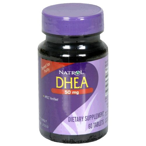 Natrol Dhea 50 Mg 60 Tablet