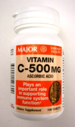 Vitamin C 500 Mg Ascorbic Acid Tablets 100