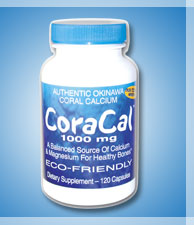 Coracal 1000mg Eco-Friendly Dietary Supplement Capsules 120
