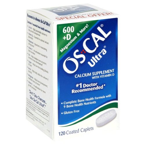 Image 0 of Os-Cal Ultra 600+D 120 Tablet By Glaxo Smith Kline