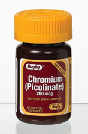 Chromium Picol 200 Mcg 60 Capsules By Major Rugby