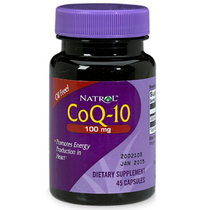 Image 0 of Coq10 100 Mg 45 Capsules By Natrol Llc