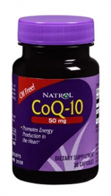 Image 0 of Coq10 50 Mg 30 Capsules By Natrol Llc