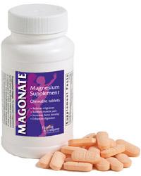 Magonate Magnesium Supplement Tablets 100