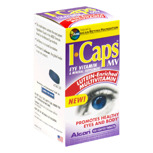 Image 0 of Icaps Lutein 100 Tablet