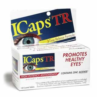 Icaps Lutein 120 Tablet