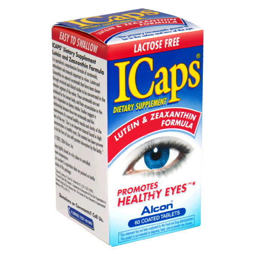 Image 0 of Icaps Lutein Zeaxanthin Tablet 60